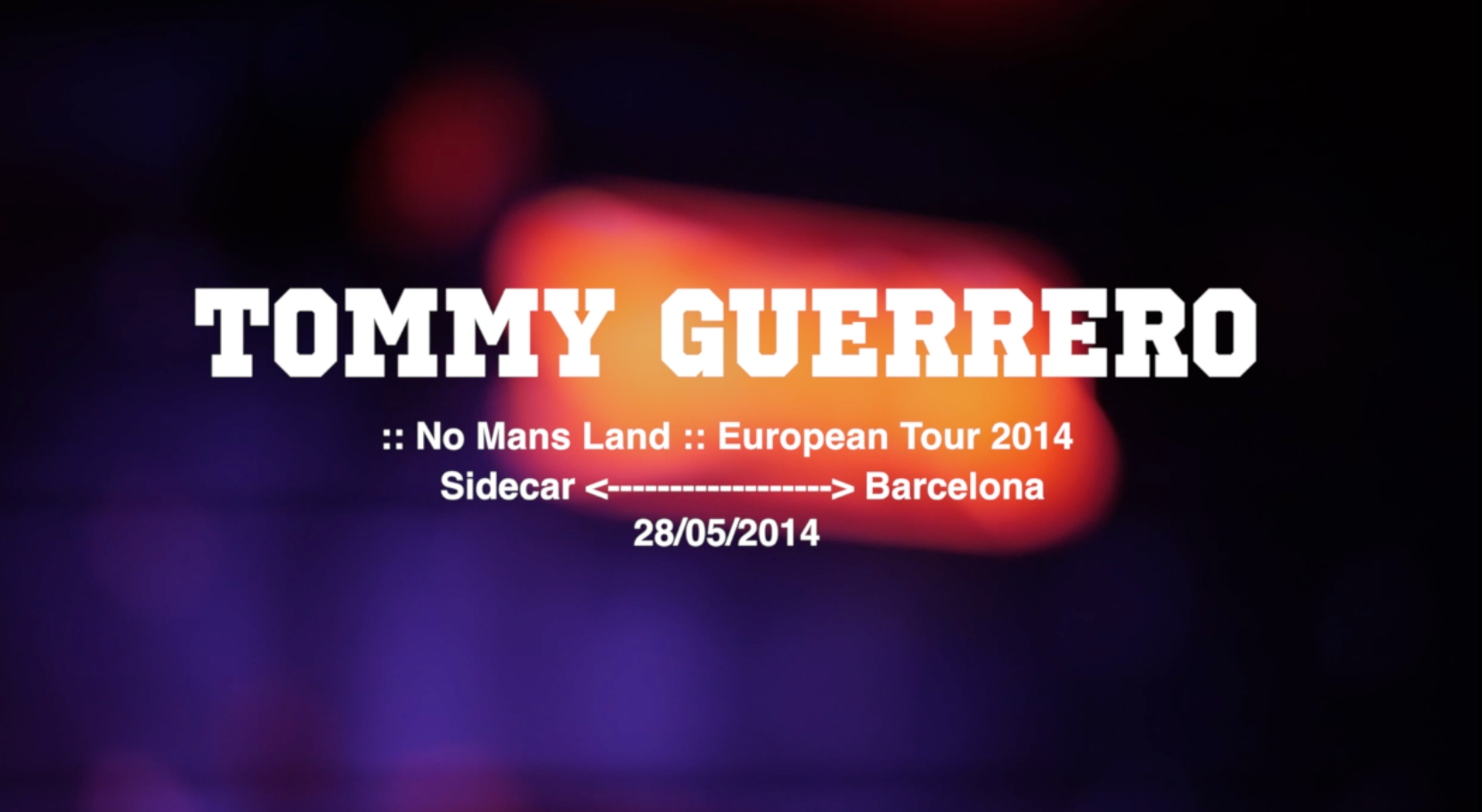 Tommy Guerrero live @ Sidecar Barcelona